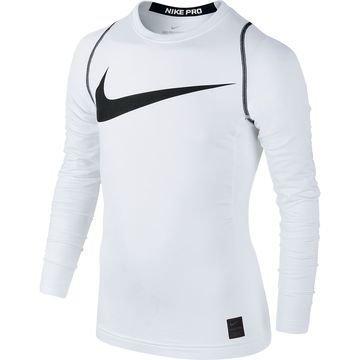 Nike Pro Hyperwarm Top Valkoinen/Musta Lapset
