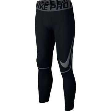 Nike Pro Hyperwarm Trikoot Musta/Harmaa Lapset