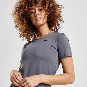 Nike Pro Short Sleeve Training T-Shirt Harmaa