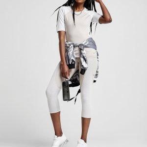 Nike Pro Training Hypercool Short Sleeve T-Shirt Light Brown / White