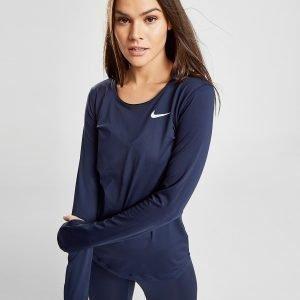 Nike Pro Training Long Sleeve T-Shirt Sininen