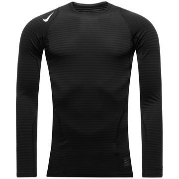 Nike Pro Warm Compression Crew Musta