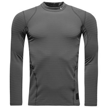 Nike Pro Warm Compression Mock Harmaa Lapset