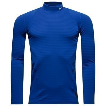 Nike Pro Warm Compression Mock Sininen Lapset