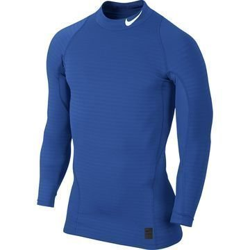 Nike Pro Warm Compression Mock Sininen