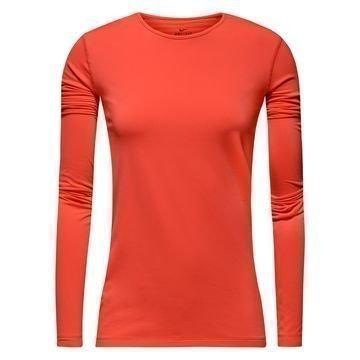 Nike Pro Warm L/S Punainen Naiset