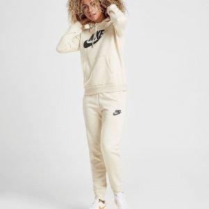 Nike Rally Fleece Track Pants Beige