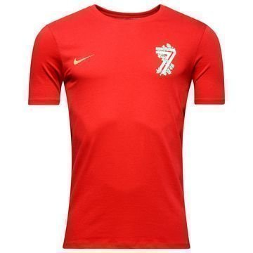 Nike Ronaldo Hero T-Paita Punainen