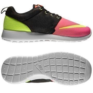 Nike Roshe One FB Musta/Volt/Pinkki Lapset