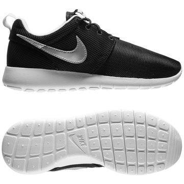 Nike Roshe Run GS Musta/Hopea Lapset