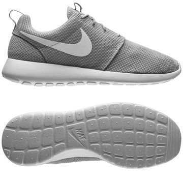 Nike Roshe Run One Harmaa/Valkoinen