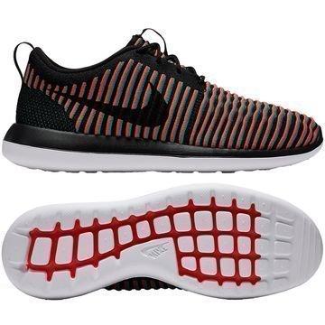 Nike Roshe Two Flyknit Musta/Punainen/Turkoosi