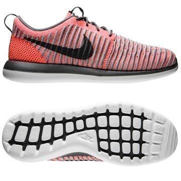 Nike Roshe Two Flyknit Pinkki/Harmaa/Valkoinen Lapset