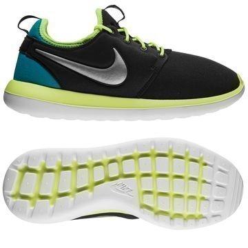 Nike Roshe Two Musta/Neon/Turkoosi Lapset
