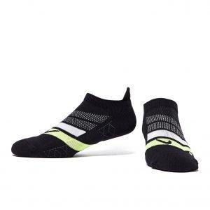 Nike Run Performance Cushioned Socks Musta