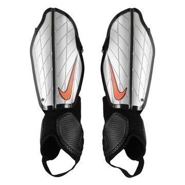 Nike Säärisuojat Protegga Flex Hopea/Musta/Oranssi