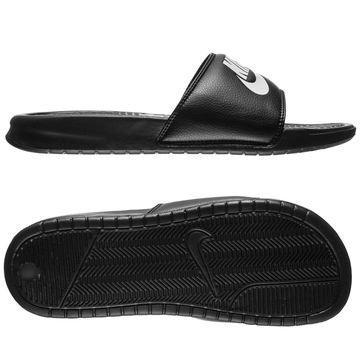 Nike Slides Benassi JDI Musta/Valkoinen