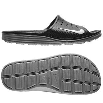 Nike Solarsoft Slide Suihkusandaalit Musta/Harmaa