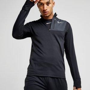 Nike Sphere Element 1/2 Zip Running Top Musta