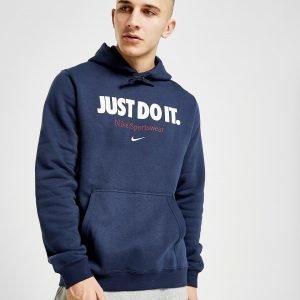 Nike Sportswear Just Do It Hoodie Sininen