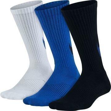 Nike Sukat Cushion Crew 3-pack Valkoinen/Sininen/Musta Lapset