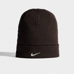 Nike Swoosh Beanie Hat Musta