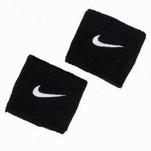 Nike Swoosh Wristband Hikinauha Musta / Valkoinen