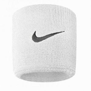 Nike Swoosh Wristband Hikinauha Valkoinen / Musta