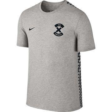 Nike T-paita Dry FootballX Harmaa