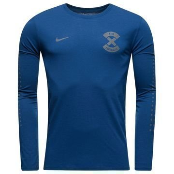 Nike T-paita Football X N & N L/S Navy