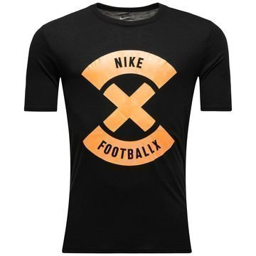 Nike T-paita FootballX Glow Musta/Oranssi