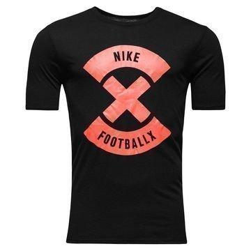 Nike T-paita FootballX Glow Musta/Punainen