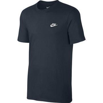Nike T-paita Futura Navy/Valkoinen