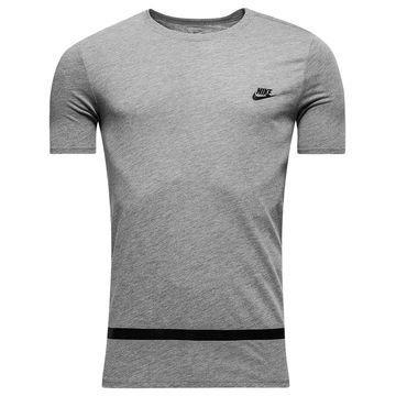Nike T-paita High Gloss Stripe Harmaa