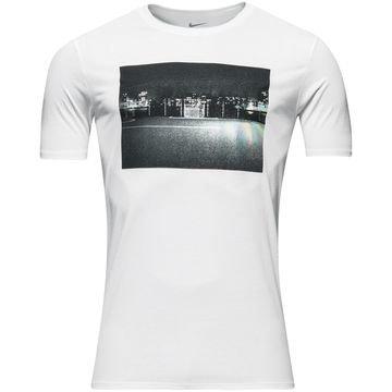 Nike T-paita Jalkapallo Photo Tee Valkoinen