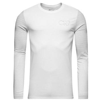 Nike T-paita L/S CR7 Chapter 3 Valkoinen