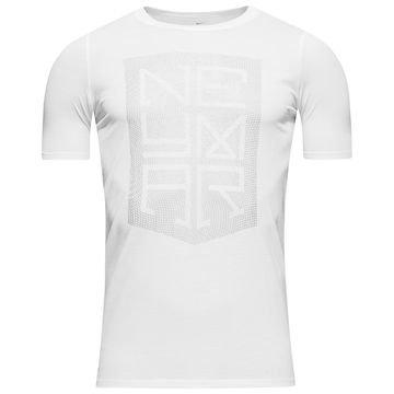 Nike T-paita Neymar Logo Valkoinen Lapset