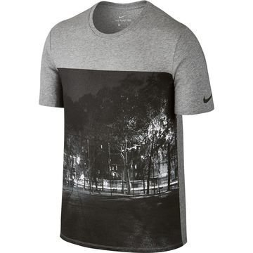 Nike T-paita Photo Harmaa
