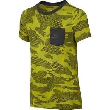 Nike T-paita Sportswear Keltainen/Harmaa Lapset