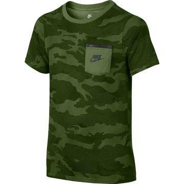 Nike T-paita Sportswear Vihreä Lapset