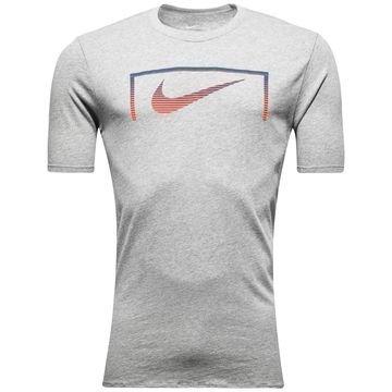 Nike T-paita Swoosh Goal Harmaa