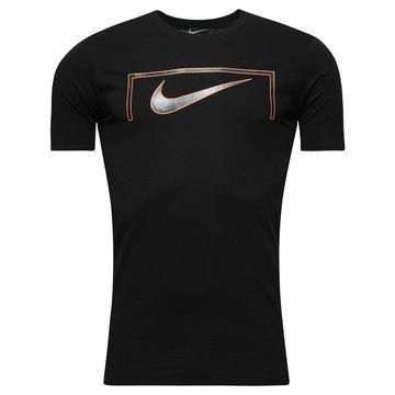 Nike T-paita Swoosh Goal Musta