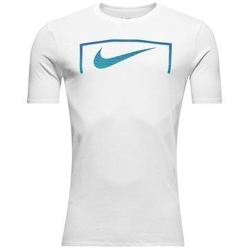 Nike T-paita Swoosh Goal Valkoinen