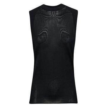 Nike T-paita Tech Knit Hihaton Musta Naiset