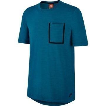 Nike T-paita Tech Knit Pocket Vihreä/Musta