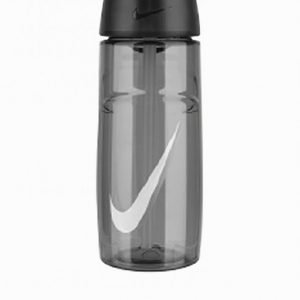 Nike T1 Flow Swoosh Water Bottle 16oz Vesipullo Antracit