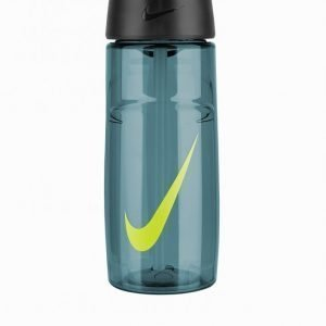 Nike T1 Flow Swoosh Water Bottle 16oz Vesipullo Sininen