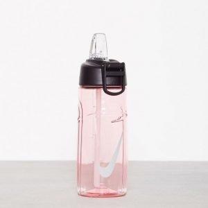 Nike T1 Flow Swoosh Water Bottle 16oz Vesipullo Vaaleanpunainen / Harmaa