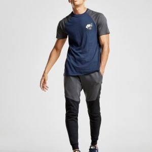 Nike Tech Fleece Colour Block Track Pants Musta