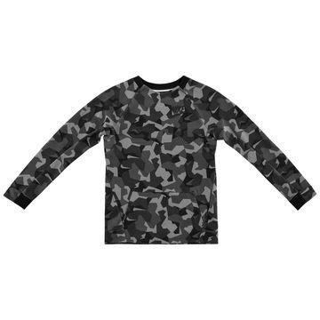 Nike Tech Fleece Crew Harmaa/Musta Lapset